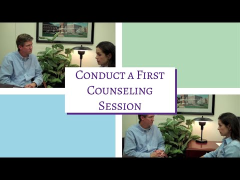 How to conduct a 1st Counseling Session: Treatment Fit