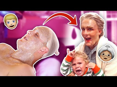 TRANSFORMING INTO A GRANDMA FOR A DAY {{THINGS WENT TERRIBLE}}