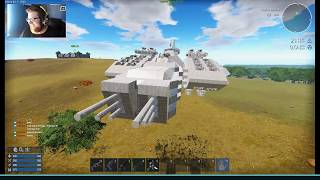 Chillin & Buildin With Spanj from July 8th Twitch Live-stream -  PVP Battleship