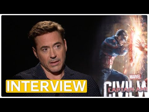 Captain America 3 - Robert Downey Jr | interview (2016)