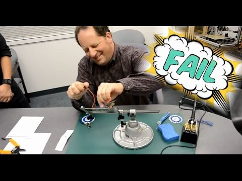 Greg Learns to Solder