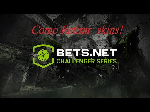 Como tirar skins no Bets net (Não precisa depositar)