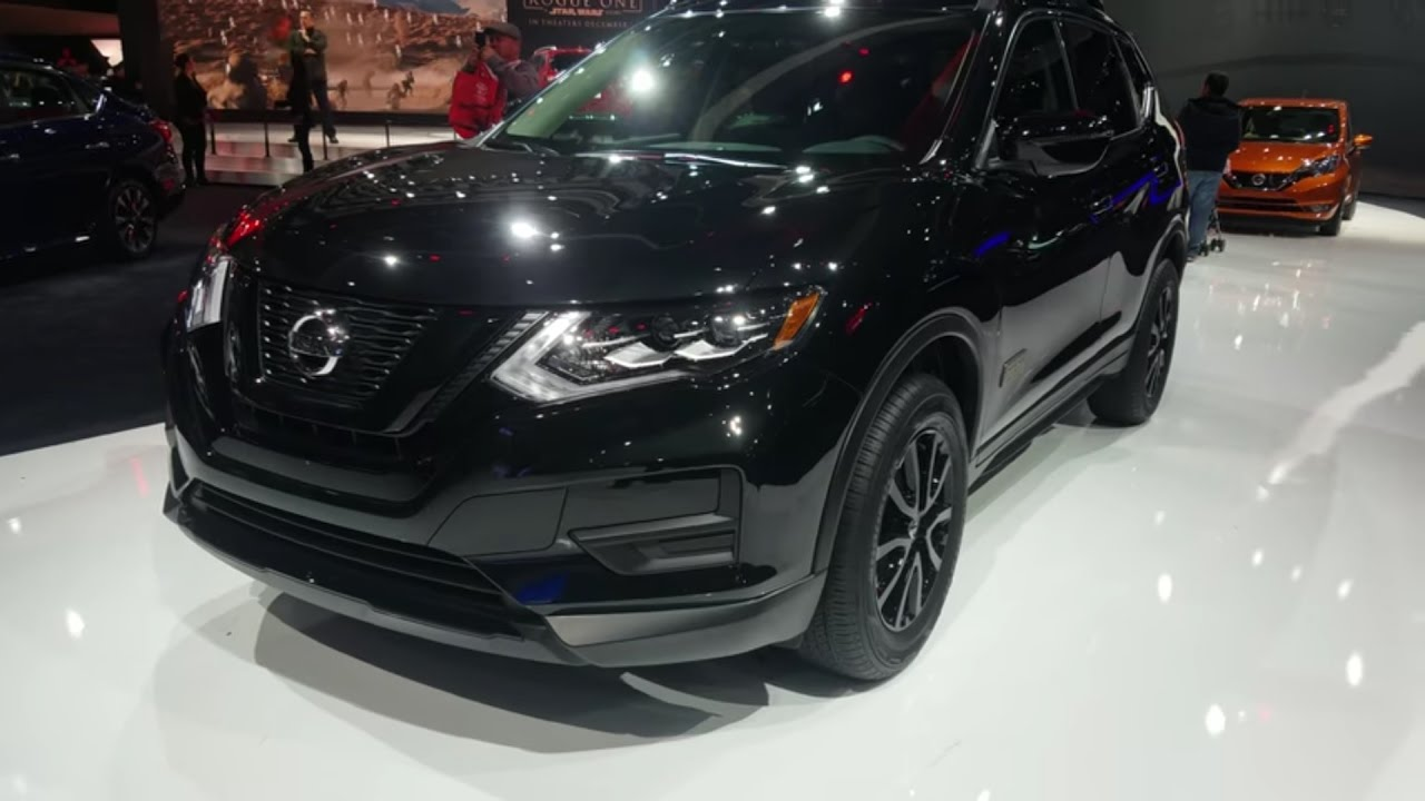 2017 Nissan Rogue One Black Limited Star Wars Edition Complete Exterior Walkthrough