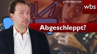 Wer hat Christian abgeschleppt? | Challenge WBS - Rechtsanwalt Christian Solmecke
