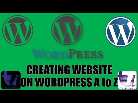 How to Create a New Website on WordPress (for the First Time) - Complete Guide [Hindi/Urdu]