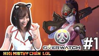 [Khi MisThy chán LOL] Lần đầu chơi Overwatch MisThy bỏ team đi ăn mì ramen