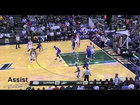 Derrick Favors Preseason Compilation vs. Clippers