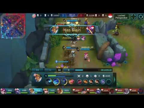 Mobile Legend-Teamwork defence-Malaysia vs indonesia