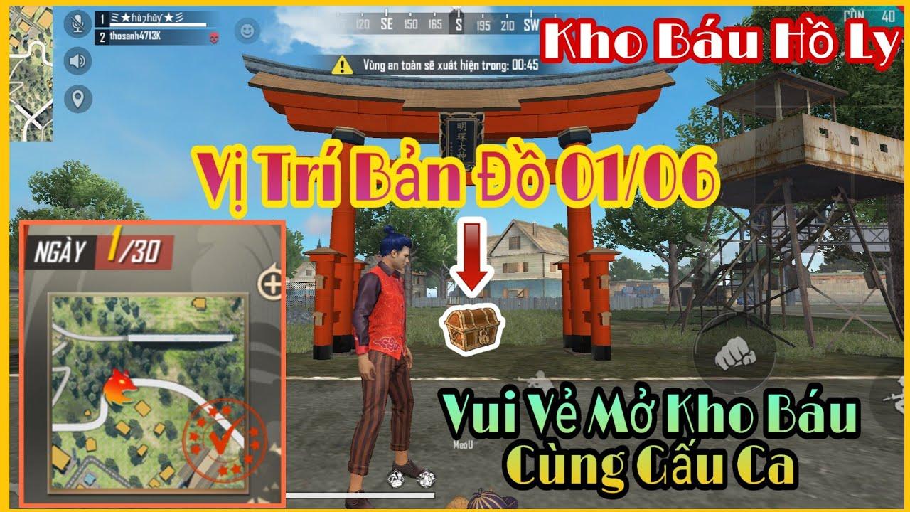 [Free Fire] Cách Tìm Kho Báu Hồ Ly – 01/06   Gấu Ca TV