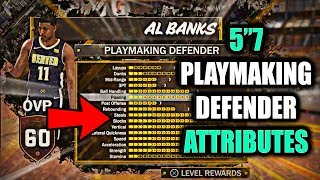 """FULL ATTRIBUTES & BADGES! 5""""7 PLAYMAKING DEFENDER! THESE RATINGS IS ASS!- NBA 2K18"""