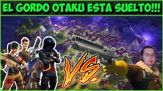 un gordo otaku aseslno contra un nuevo mundo    fortnite   battle royale