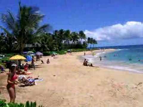 Poipu Beach, Koloa, Kauai, HAWAII