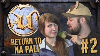 RULE NUMBER ONE, DON'T GET MURDERED! - Let's Play Unreal: Return to Na Pali #2 (feat. WeaselWife)