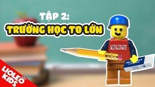 Tiếng Anh cho bé qua phim hoạt hình tiếng Anh Lego #2: bé học tiếng Anh về trường học |Lioleo Kids