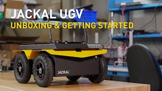 Jackal UGV |  Unboxing & Getting Started