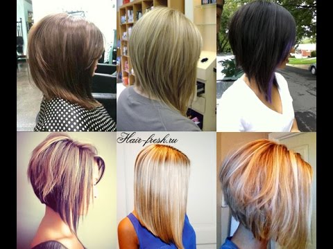 Trendy Bob Haircuts Sharp Angled Bob Youtube