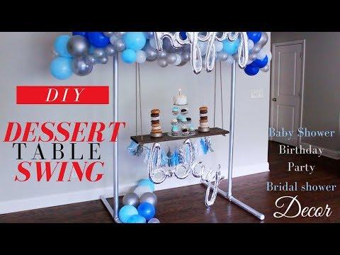 DIY Dessert Table Swing Tutorial | DIY Party Decorations