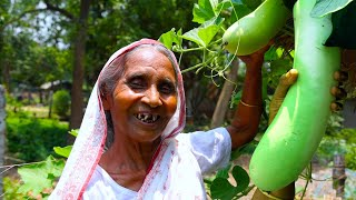 How to cook bottle gourd in this Summer season best recipe by our Grandmother  village food recipes