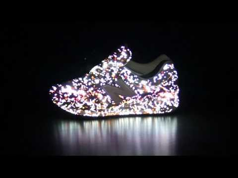 New balance sneaker Projection mapping_01