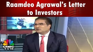 Raamdeo Agrawal's Letter to Investors | Long Term Portfolio Strategy | CNBC TV18 Exclusive