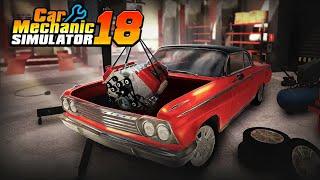 car Mechanic Simulator Обзор игры на Android