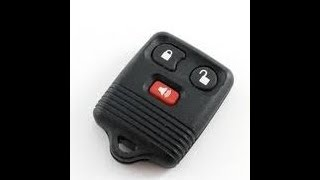 1993 to 1994 Ford Explorer Factory Transmitter Remote Fob Programming