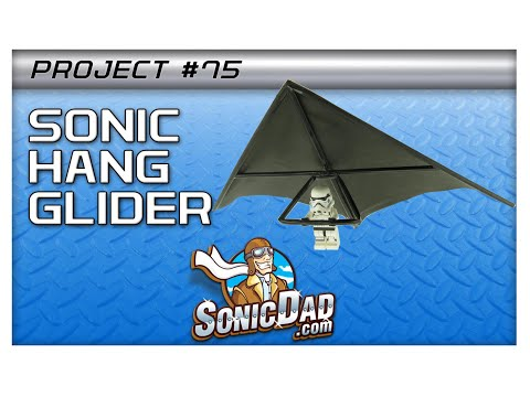 The Sonic Lego Figure Hang Glider: Project #75