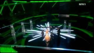 Sweden - Final - Eurovision 2009 (HD)