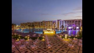 Египет Хургада Июль 2020 Как выглядит вечером территория Отеля Albatros White Beach Resort 5