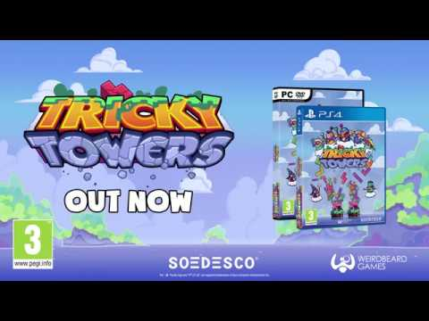 Tricky Towers - Launch Trailer - PEGI