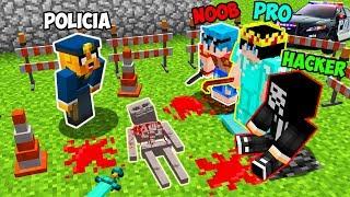 Minecraft NOOB vs PRO vs HACKER 😱 ¿QUIÉN ES EL ASESINO? - MINECRAFT