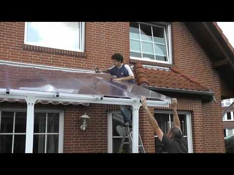 Palram Terrassendach Produktvideo Deutsch Clemens Hobbytec Youtube