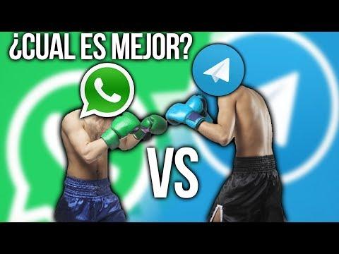 Whatsapp vs Telegram ¿Cual es mejor a día de hoy y porqué? 🤔