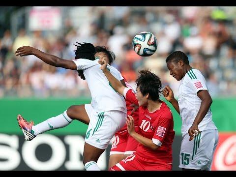 Korea DPR v. Nigeria, Canada 2014 HIGHLIGHTS