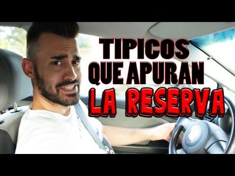 TÍPICA PERSONA QUE APURA LA RESERVA AL MÁXIMO!!!!