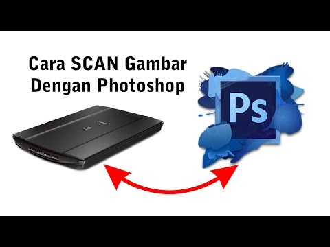 Cara Mudah Scan Gambar Dengan Photoshop - Tutorial Photoshop