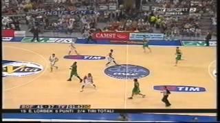 2006 G3 Climamio Fortitudo Bologna vs Benetton Treviso