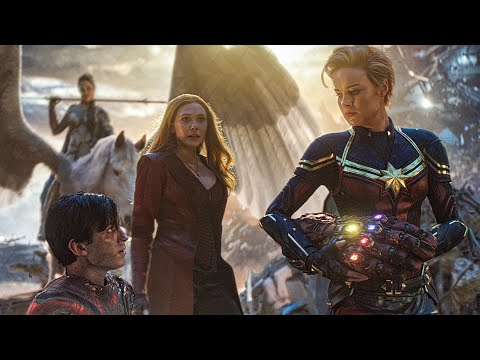 Female Avengers Unite in Final Battle - AVENGERS 4: ENDGAME Bonus Clip (2019)
