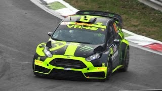 VR46' 2015 Ford Fiesta RS WRC: The Loudest Fiesta WRC Ever? - Monza Rally Show 2014