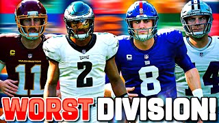 WINNING A GAME WITH ALL 32 NFL TEAMS #2 (NFC LEAST)