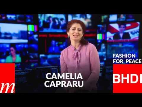 Watch Camelia Capraru's message on Fashion for Peace (Italian)