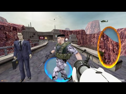 Half-Life with the Portal Gun!