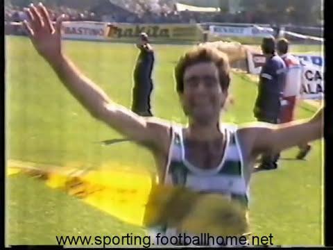 Atletismo :: Sporting vence a Taça dos Campeões Europeus de Corta Mato em 1989