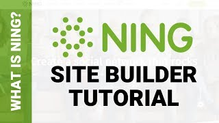 What is Ning? Review for Ning Website Builder for Sites