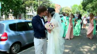 Свадьба Роман и Мадина 2 очень няшное видео