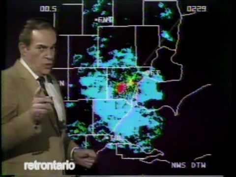 WDIV Detroit 4 Weather Watch 1984