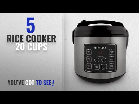Best Rice Cooker 20 Cups [2018]: Aroma Housewares 20 Cup Cooked (10 cup uncooked) Digital Rice