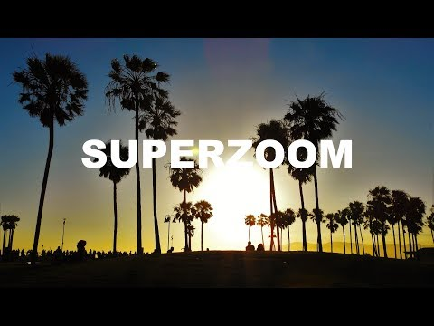SuperZoom - Last light at Santa Monica (Nikon P900)
