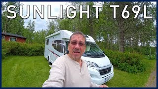 European Motorhome Tour - Sunlight T69L