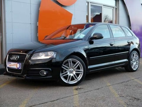2009 audi a3 s line sportback 1 9tdi 105 for sale in hampshire youtube. Black Bedroom Furniture Sets. Home Design Ideas